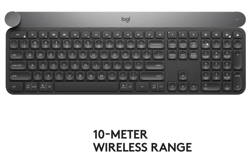 Logitech Advanced Keyboard with Creative Input Dial (920-008484)