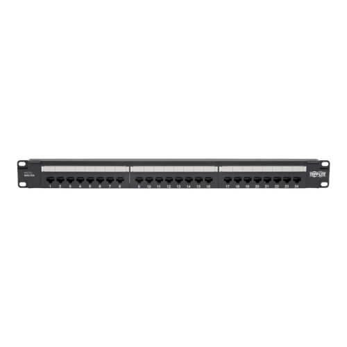 Tripp Lite Cat5 / Cat5e Wall-Mount PoE Patch Panel 12-Port 110 568A/B RJ45 (N050-P12)