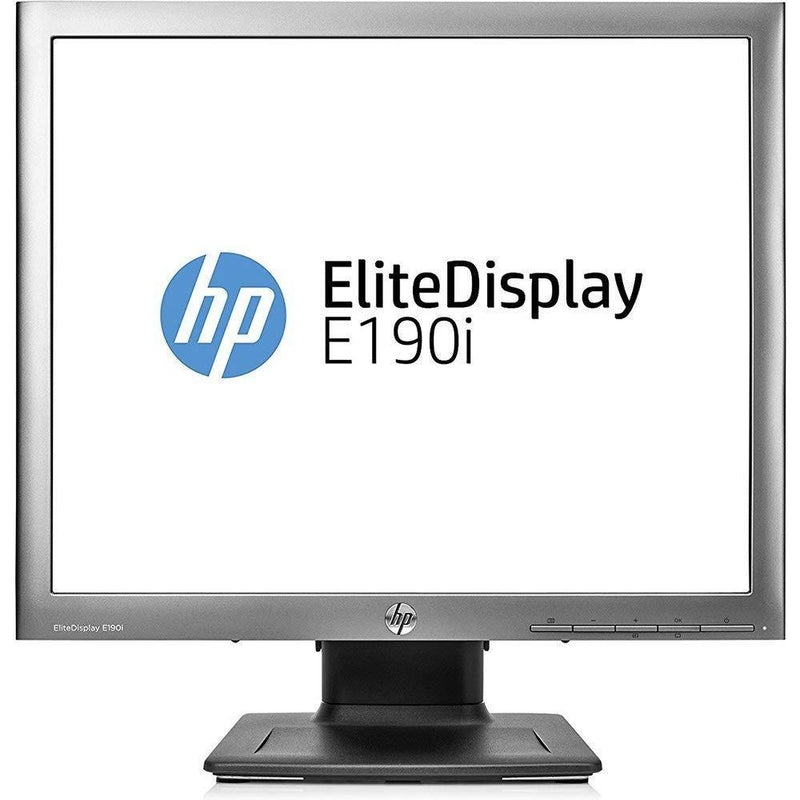 "HP Elite E190i 18.9"" SXGA LED LCD Monitor - 5:4 - Black (E4U30A8"
