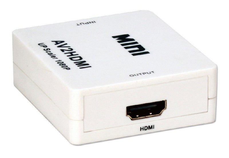Qvs Composite Audio & Video To Digital Hdmi Up-Converter (HRCA-AS)