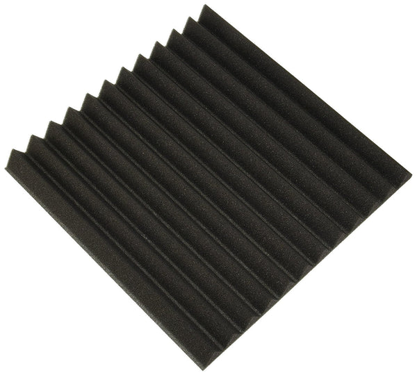 PYLE AUDIO - HOME Pyle Audio - Home Studio Soundproofing Panels Recording Foam Wall Tiles 12X12 (PSI1612)