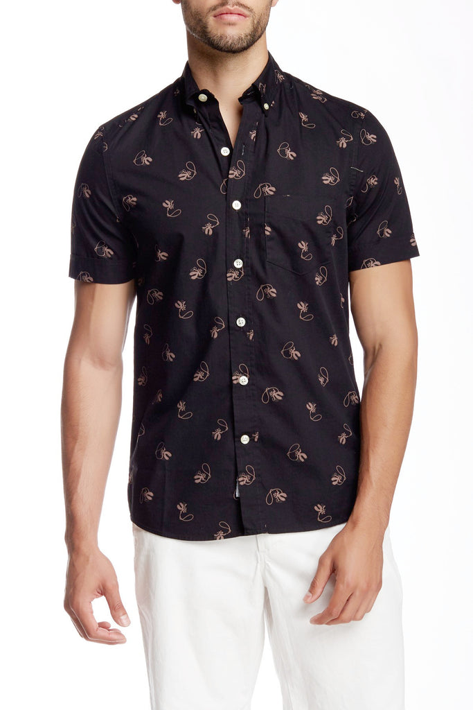 lil cowboy shirt short sleeve button down kennington