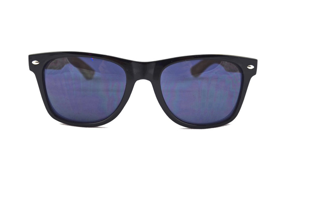 low rider bamboo wood wooden sunglasses black