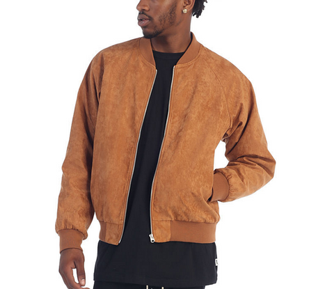 eptm vegan suede quilted bomber jacket coat timberland tims
