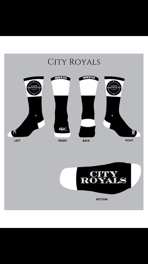 City Royals Socks