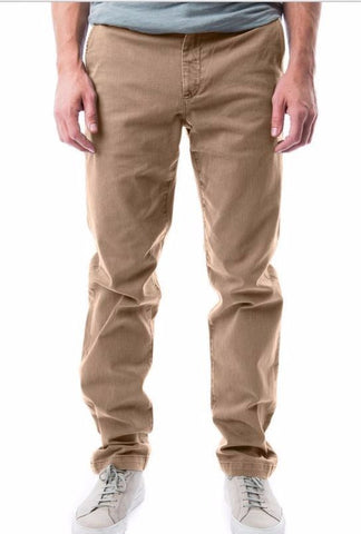 kennington beige earth tan nude natural chino twill khaki trousers pants relaxed fit