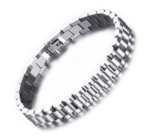 stainless steel watch band chain bracelet