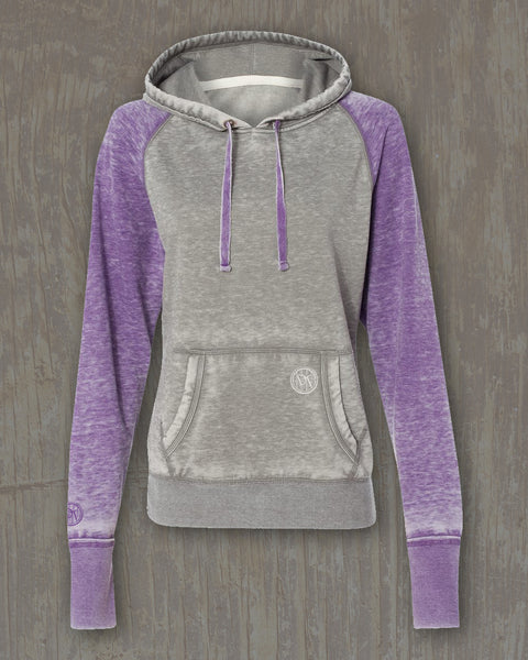 Zen Fleece Raglan Hoodie with Small DT Embellishment