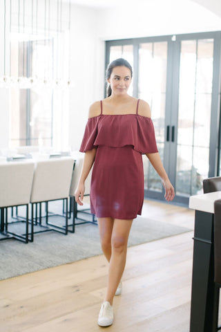 Mitzi Off Shoulder Dress