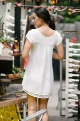 KOKOON Savoy Ivory Dress Back
