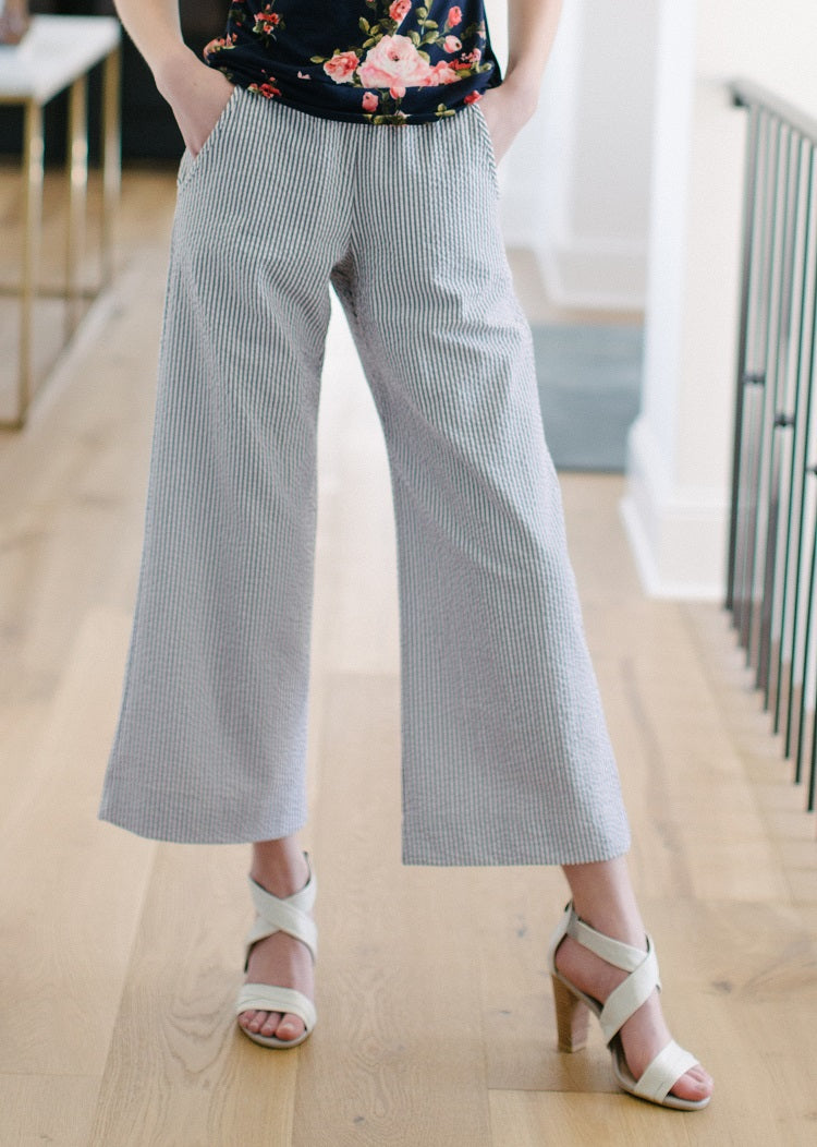 KOKOON Cropped Calhoun Wide Leg Pants
