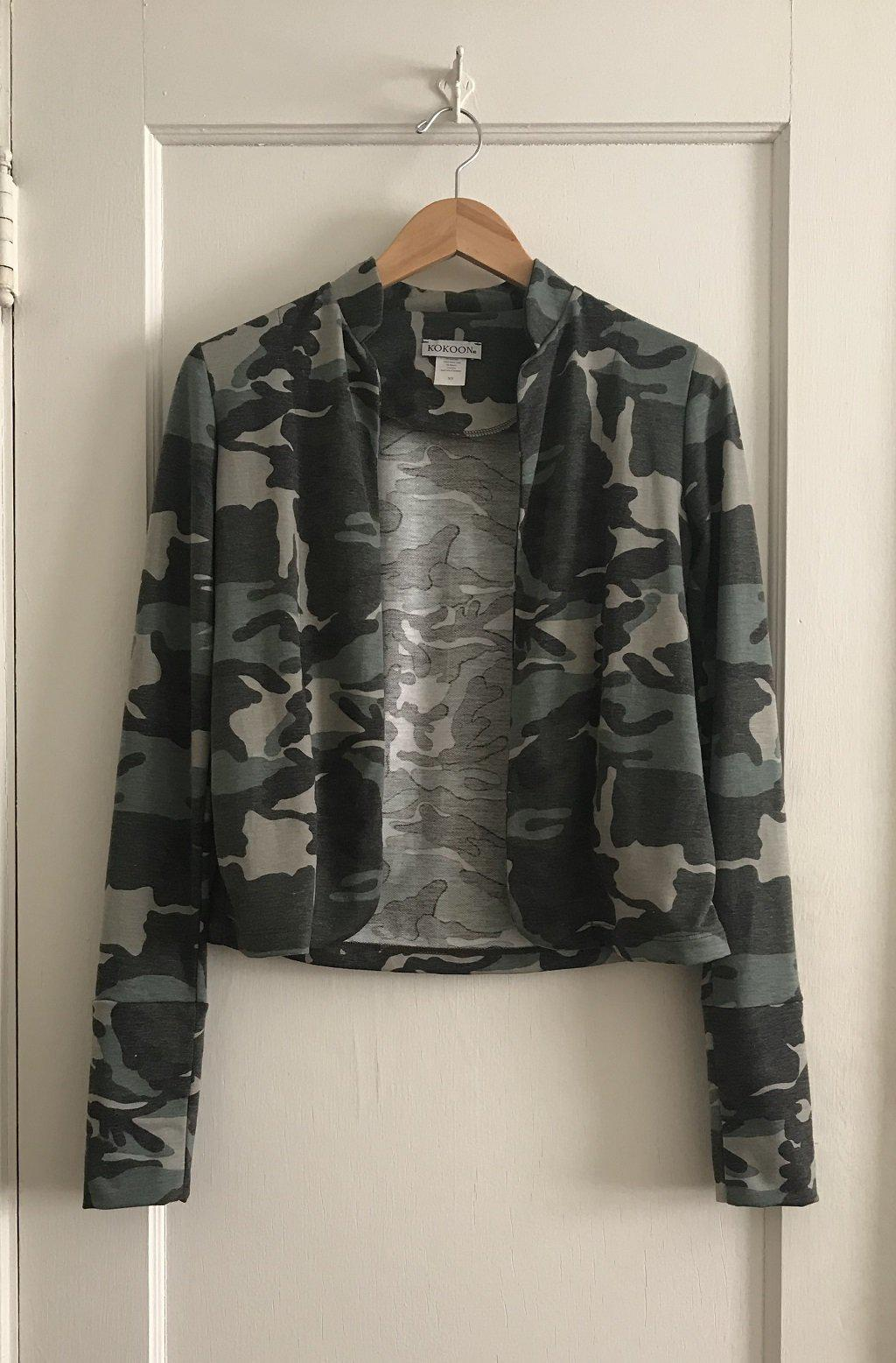 KOKOON Guru Who Jacket in Minty Camo