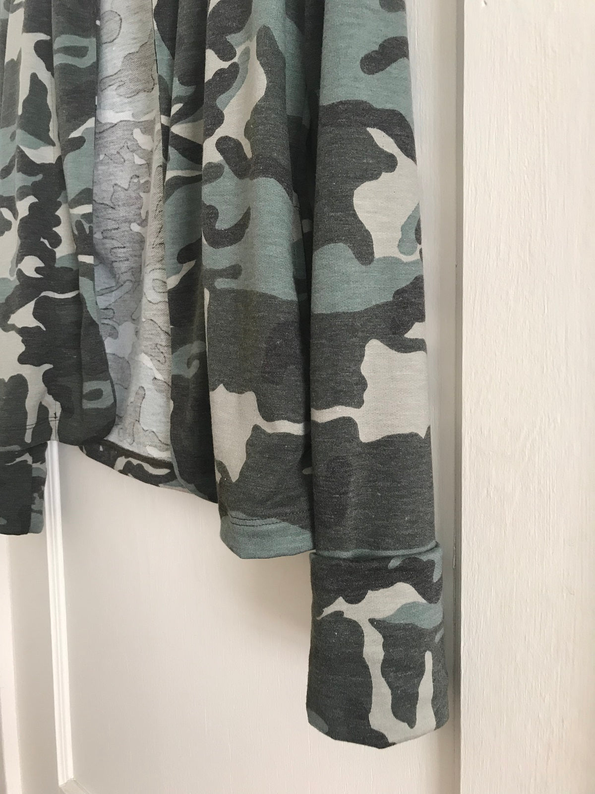 KOKOON Guru Who Jacket in Minty Camo Detail