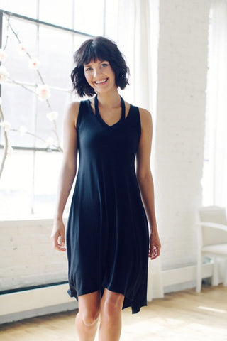 KOKOON Vis Viva Tank Dress in Black