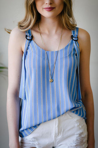 Sleeveless Brookland Blouse