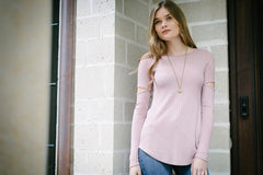 KOKOON Tempest Tunic in Rose Quartz 3