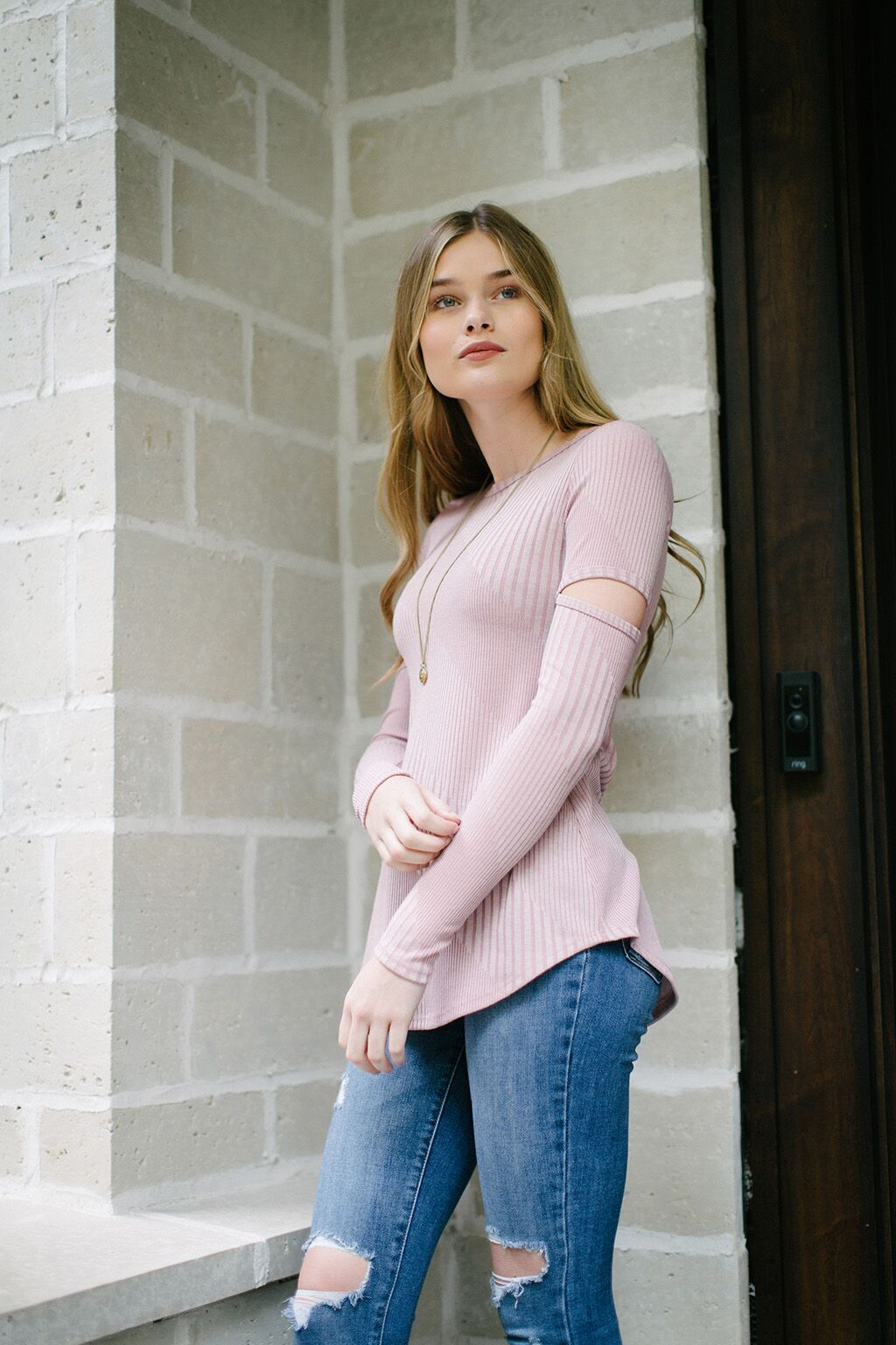KOKOON Tempest Tunic in Rose Quartz 2
