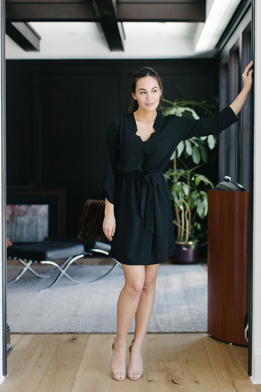 KOKOON Short A star Is Born Duster Dress in Black 3