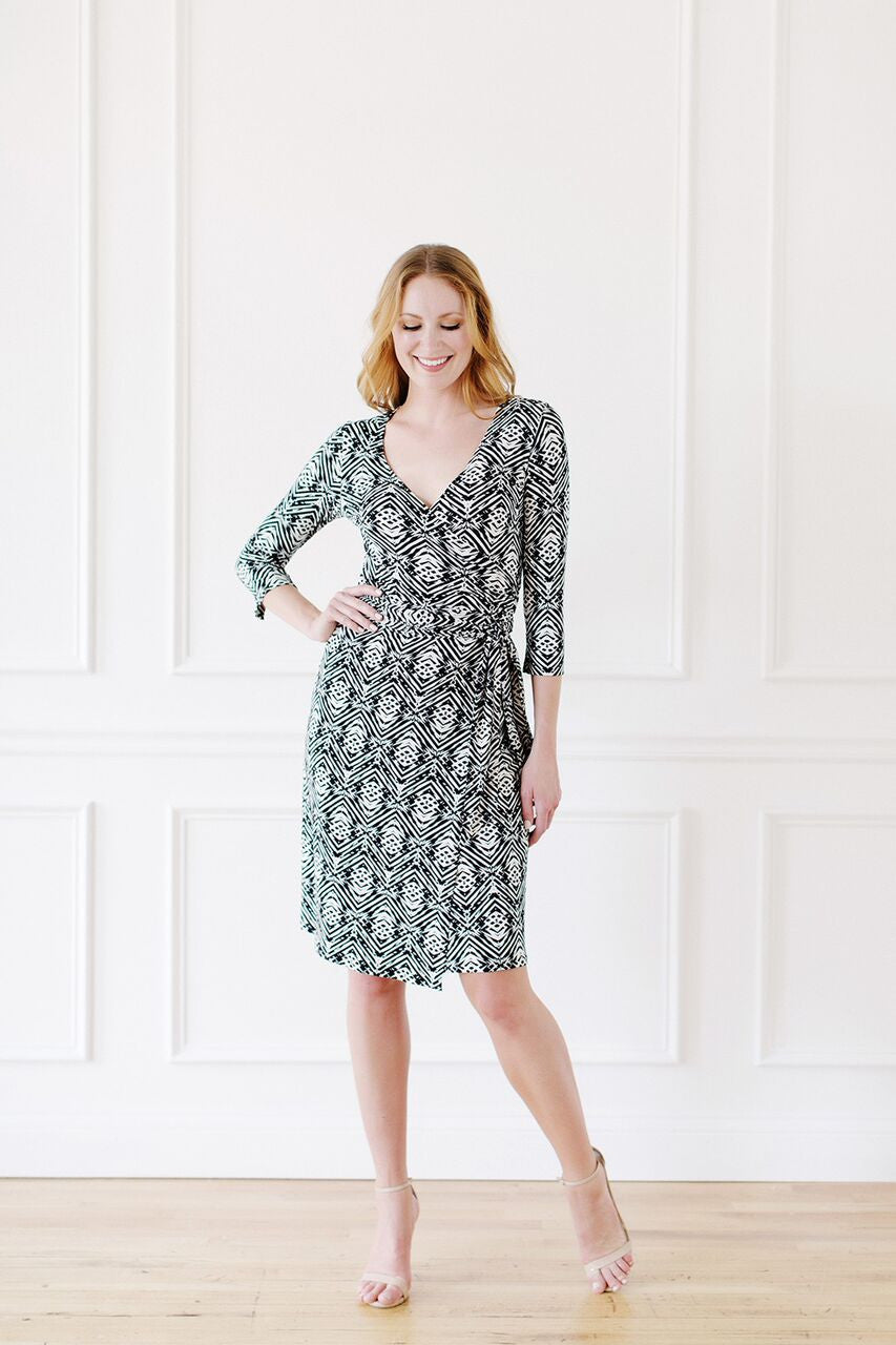 KOKOON Farrah Wrap Dress Front