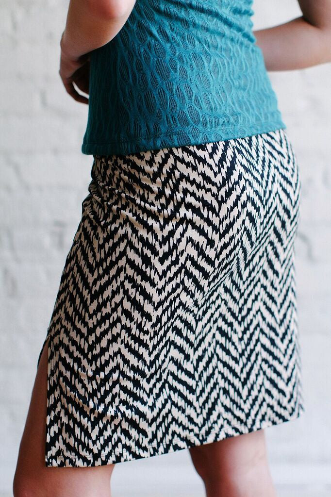 KOKOON Board Room Pencil Skirt Back