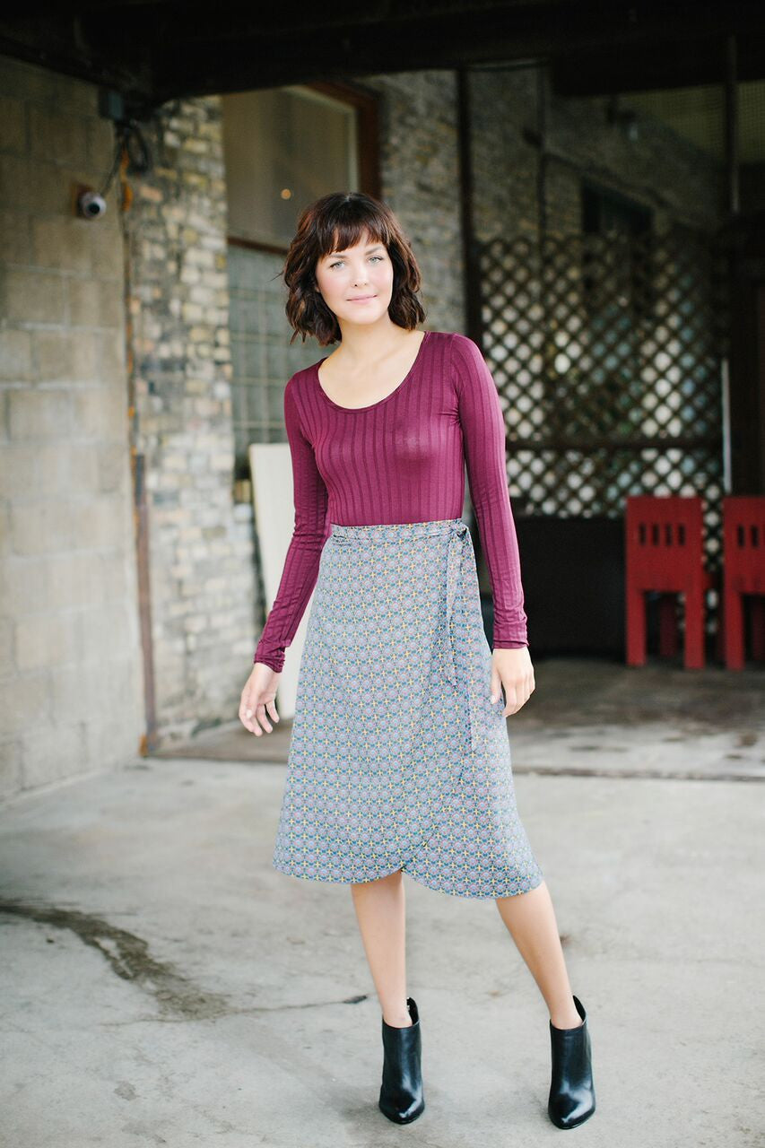 KOKOON Midi Wrap Skirt 2