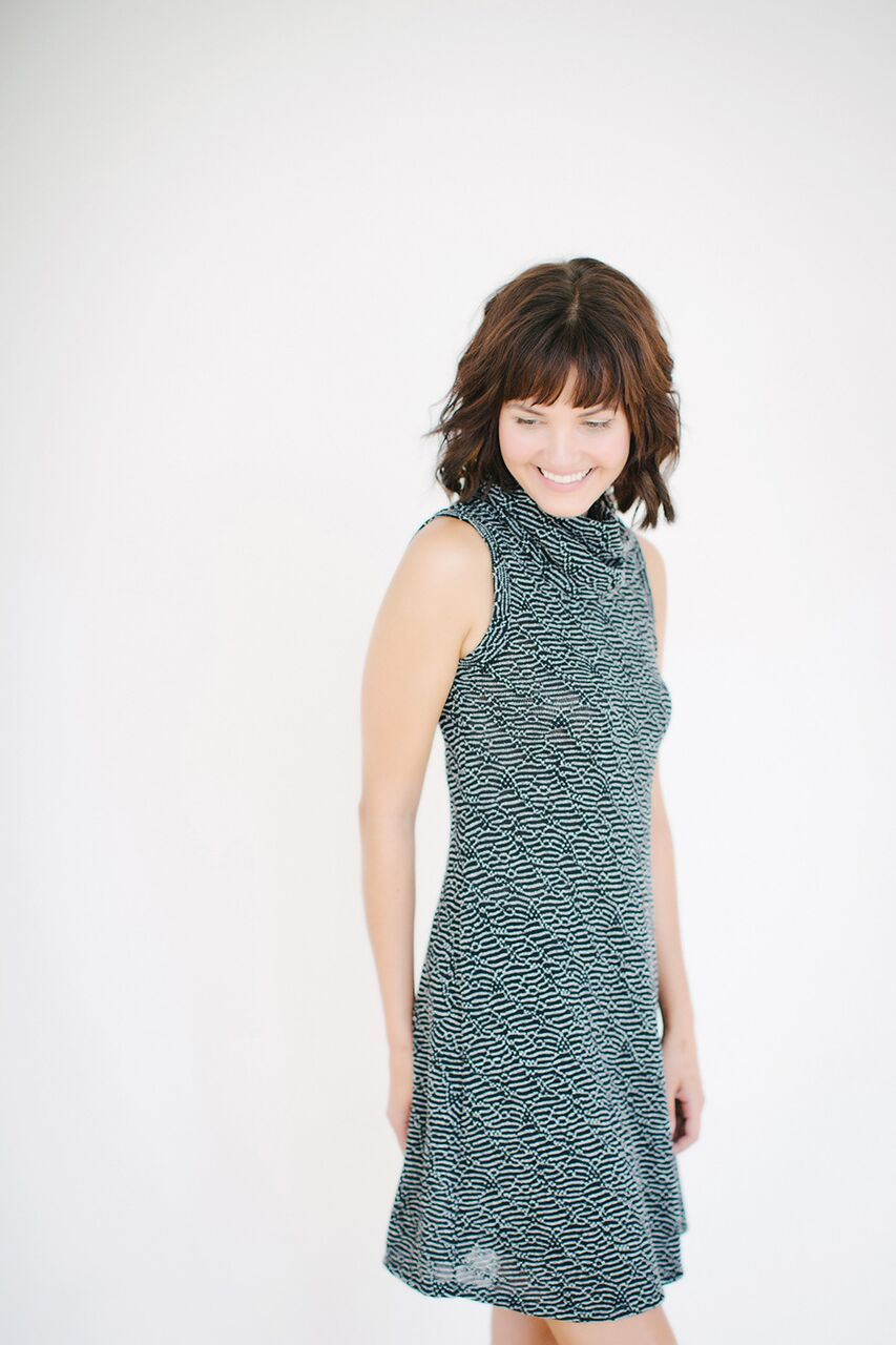 KOKOON JoJo Cowl Neck Dress Side