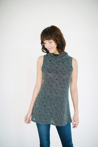 Bowl Me Over Ribbon Tunic