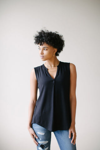 Cropped Paulette Short Sleeve Blouse