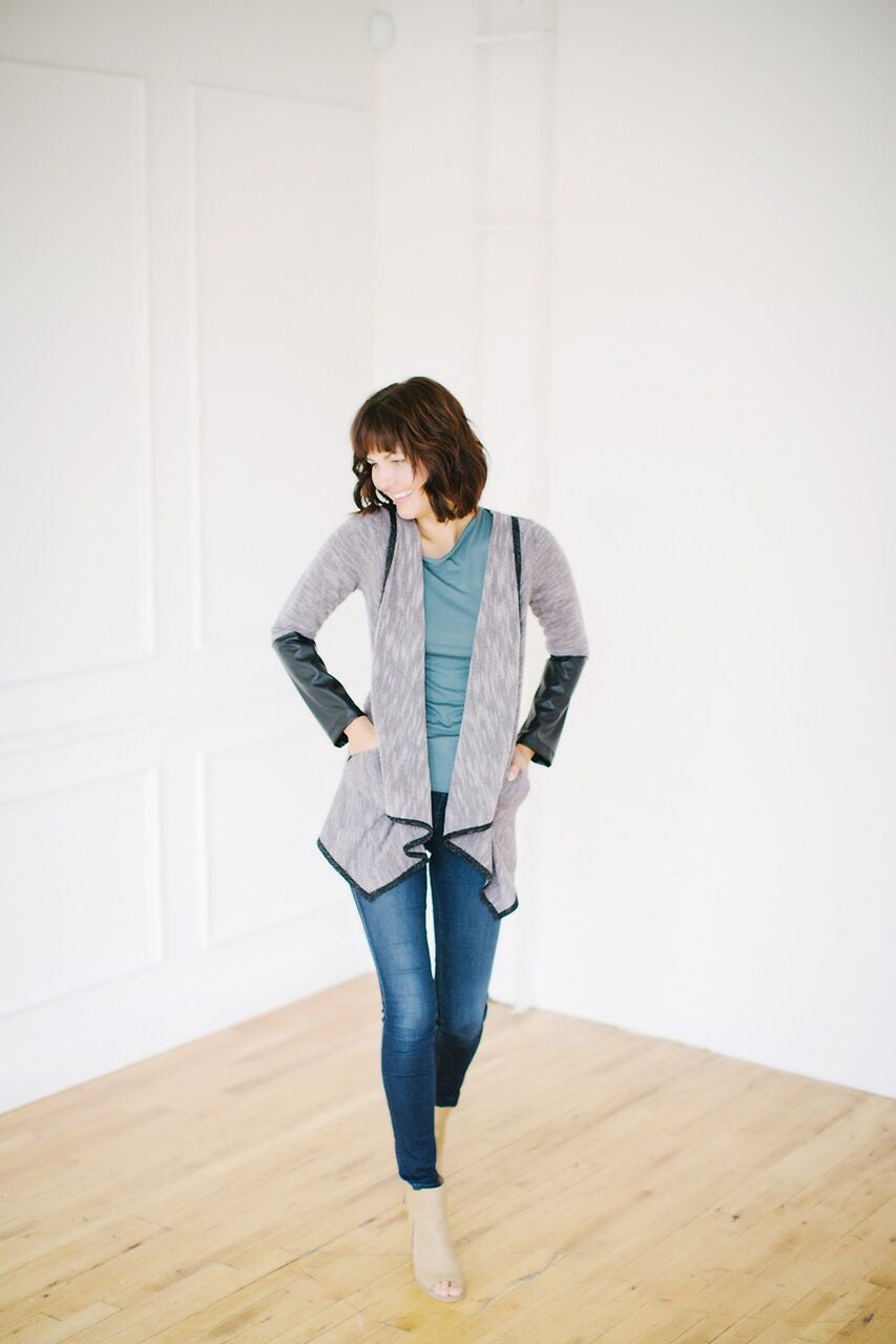 KOKOON Splice of Life Cardigan Side