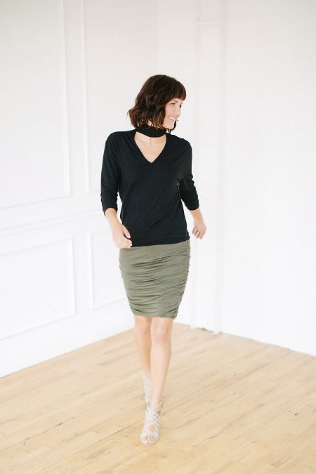 Scrunch Skirt: more colors available
