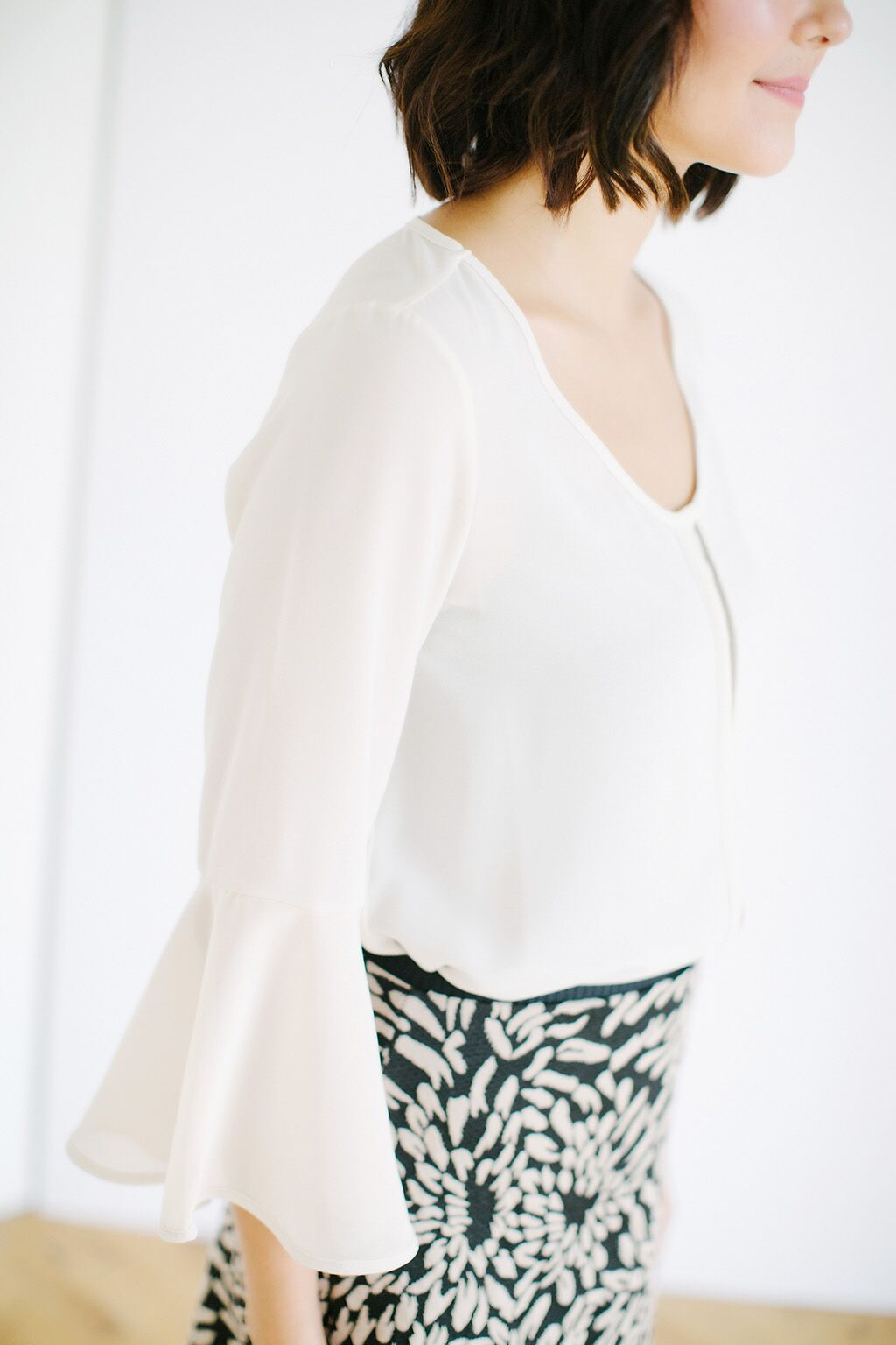 KOKOON Milly Flutter Blouse Side