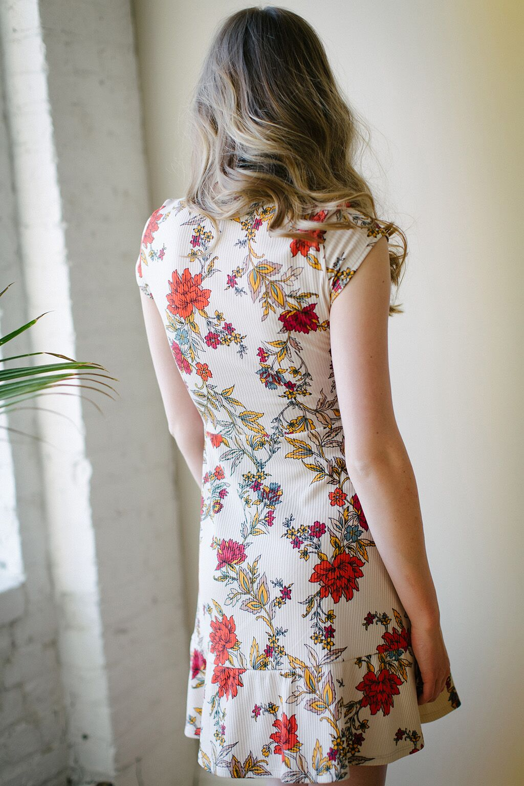 KOKOON Bon Voyage Dress in Ginger Floral 4