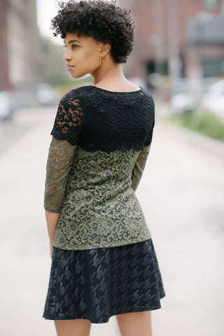 KOKOON Saint Genevieve Lace Top back