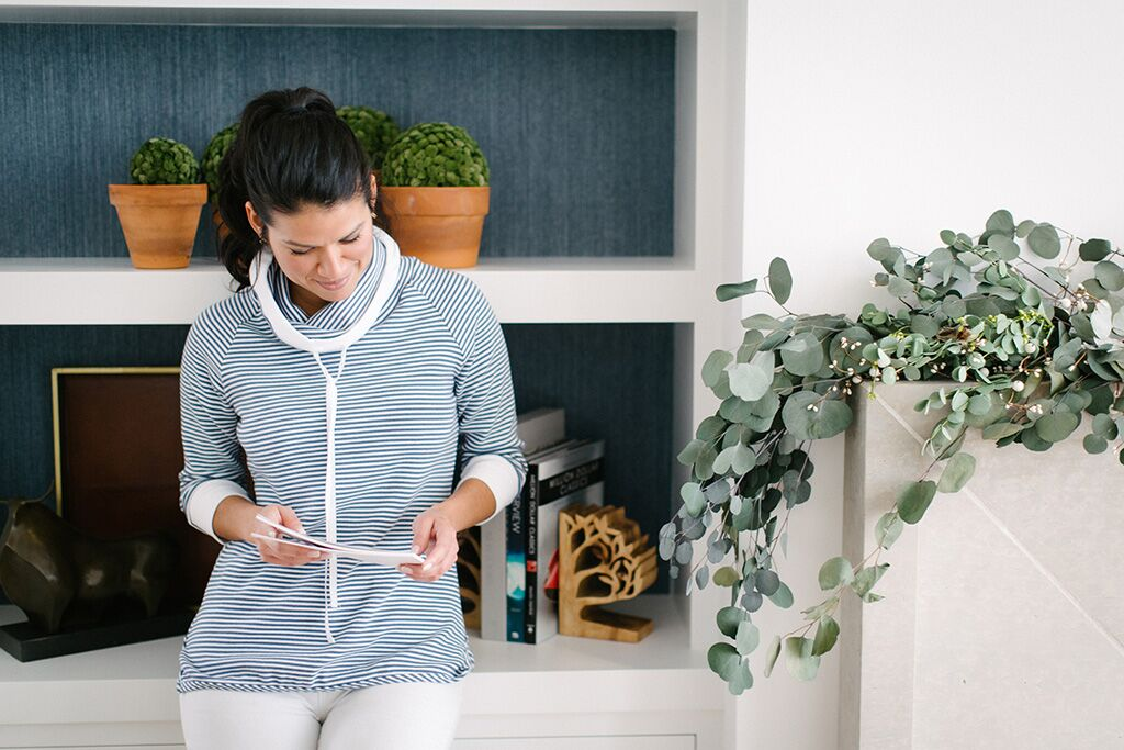 KOKOON Cove Pullover in Sailor Stripe 2