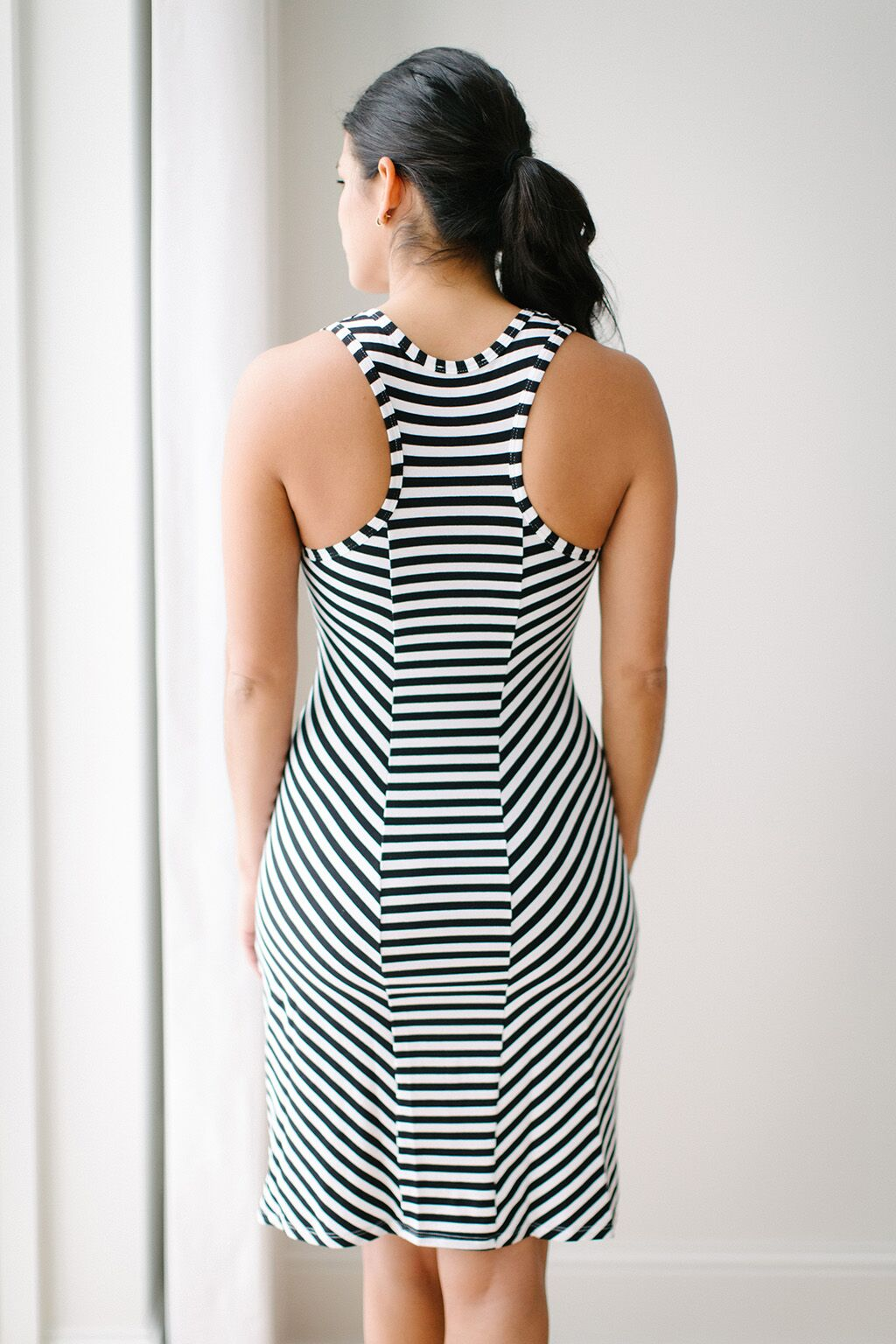 KOKOON Salty Stripe Tank Dress Back