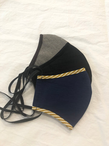 Fitted Curved Women's Cloth Mask - More Options Available