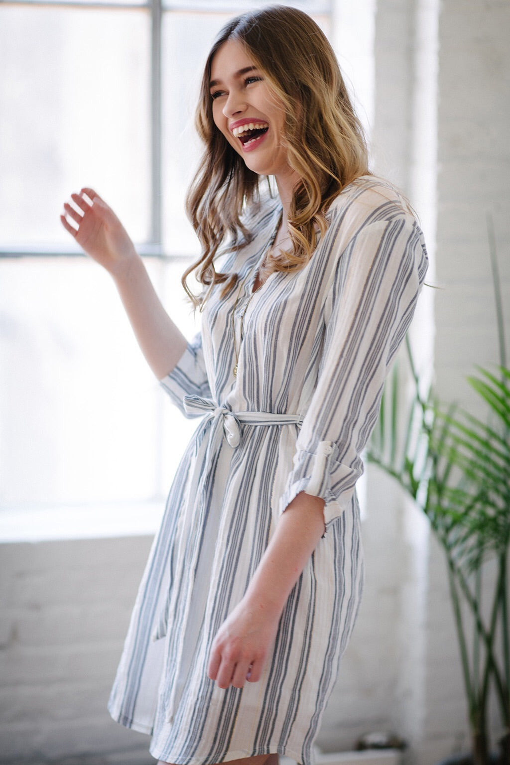 KOKOON Sussex Cotton Shirtdress Side