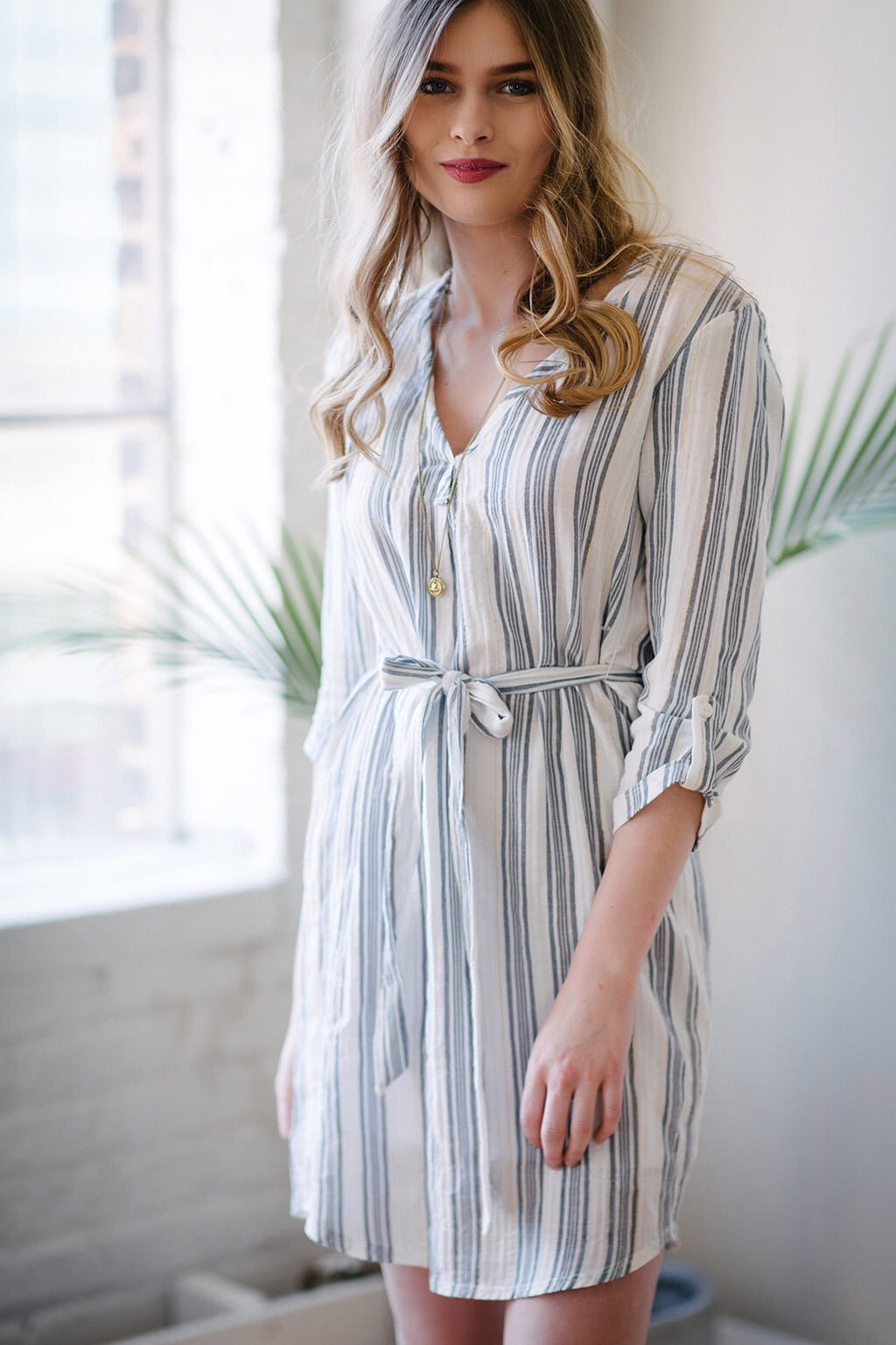 KOKOON Sussex Cotton Shirtdress Front