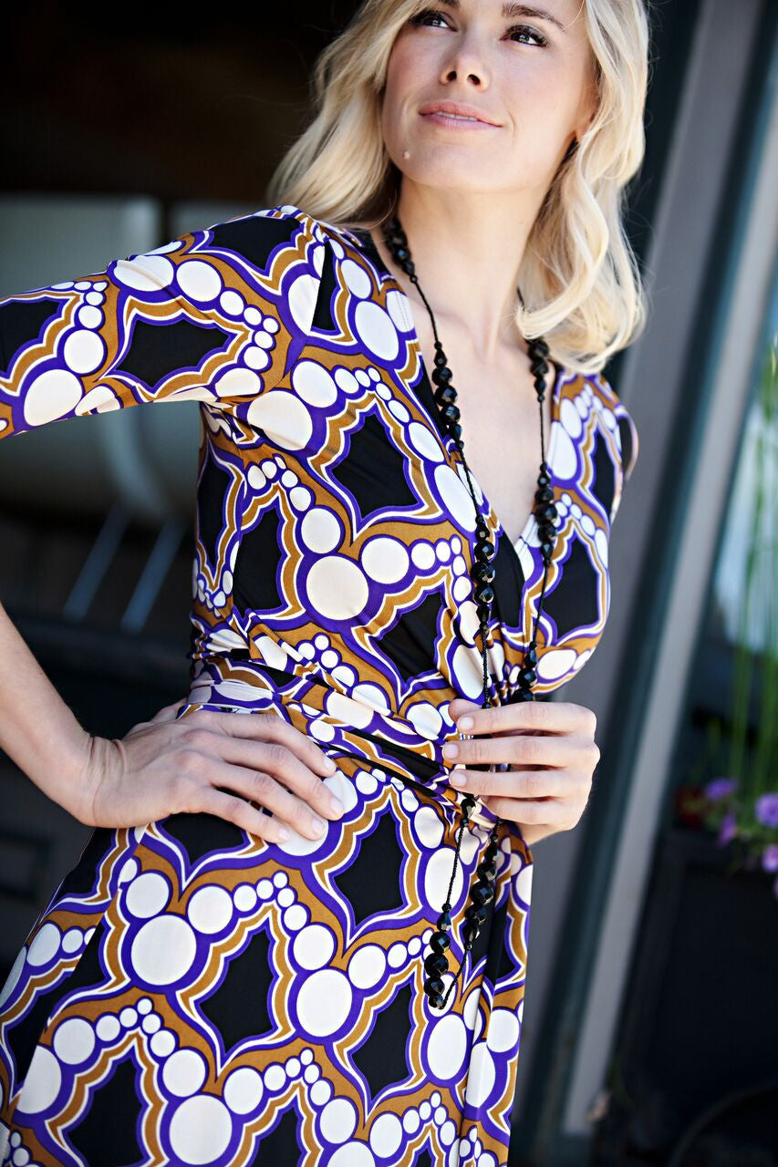 KOKOON Dresses Farrah Wrap Dress: more prints available