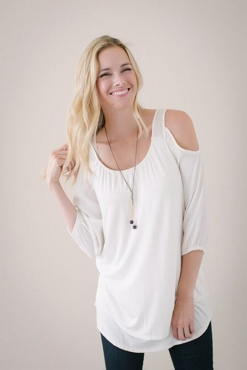 KOKOON Brush Off Mini/Tunic White