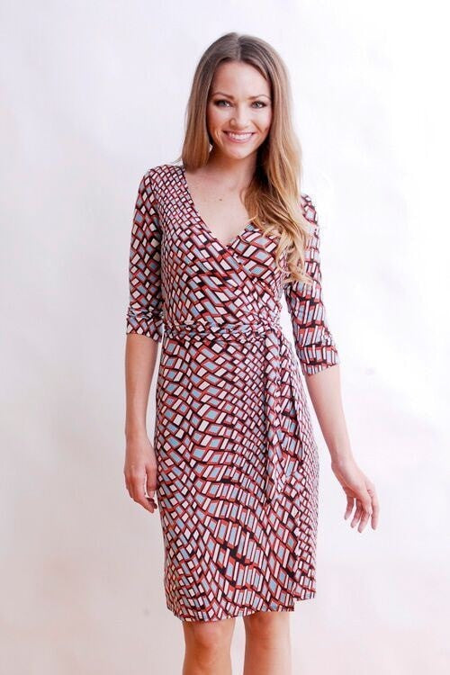 KOKOON Dresses Red Hot / XS Farrah Wrap Dress: more prints available