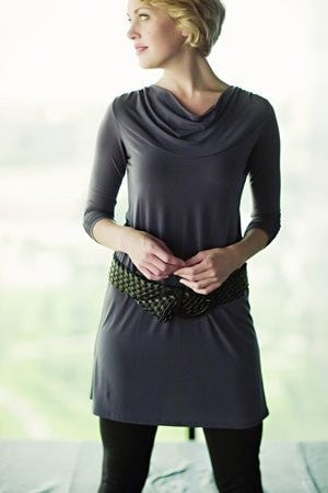 KOKOON Cowl Neck Dress