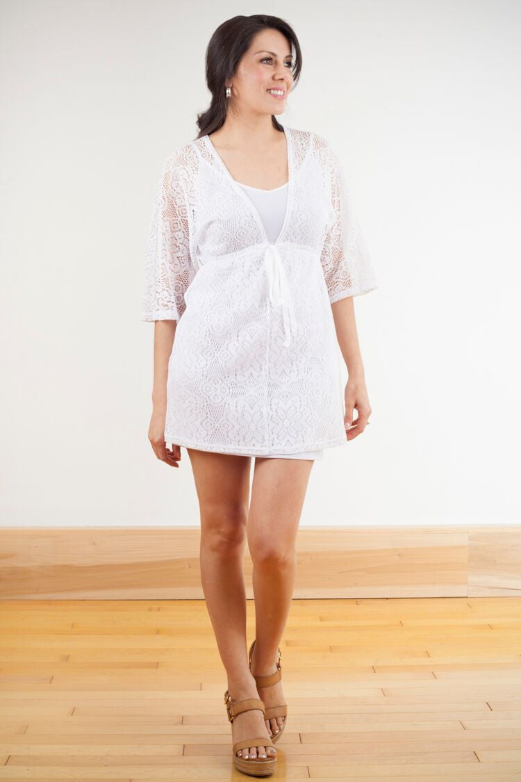 KOKOON Dresses White Crochet / XS Shore Thing Cover-Up