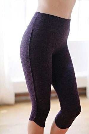 KOKOON Inspired Sweat Active Wear Plum Strata / XS Erin Legging
