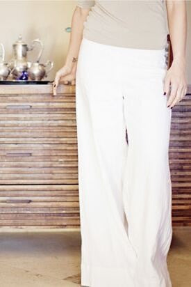 KOKOON Linen Wide Leg Trouser: more colors available