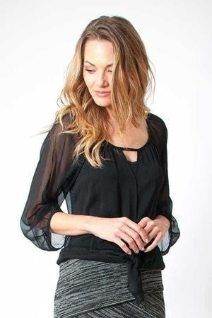 KOKOON Separates Black / M Piccadilly Blouse