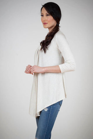 KOKOON Draped Cardigan Side