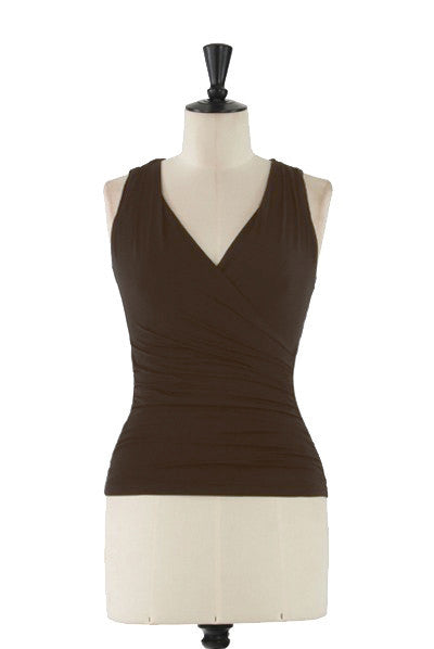 KOKOON Separates Chocolate / XS Dreamgirls Wrap Tank