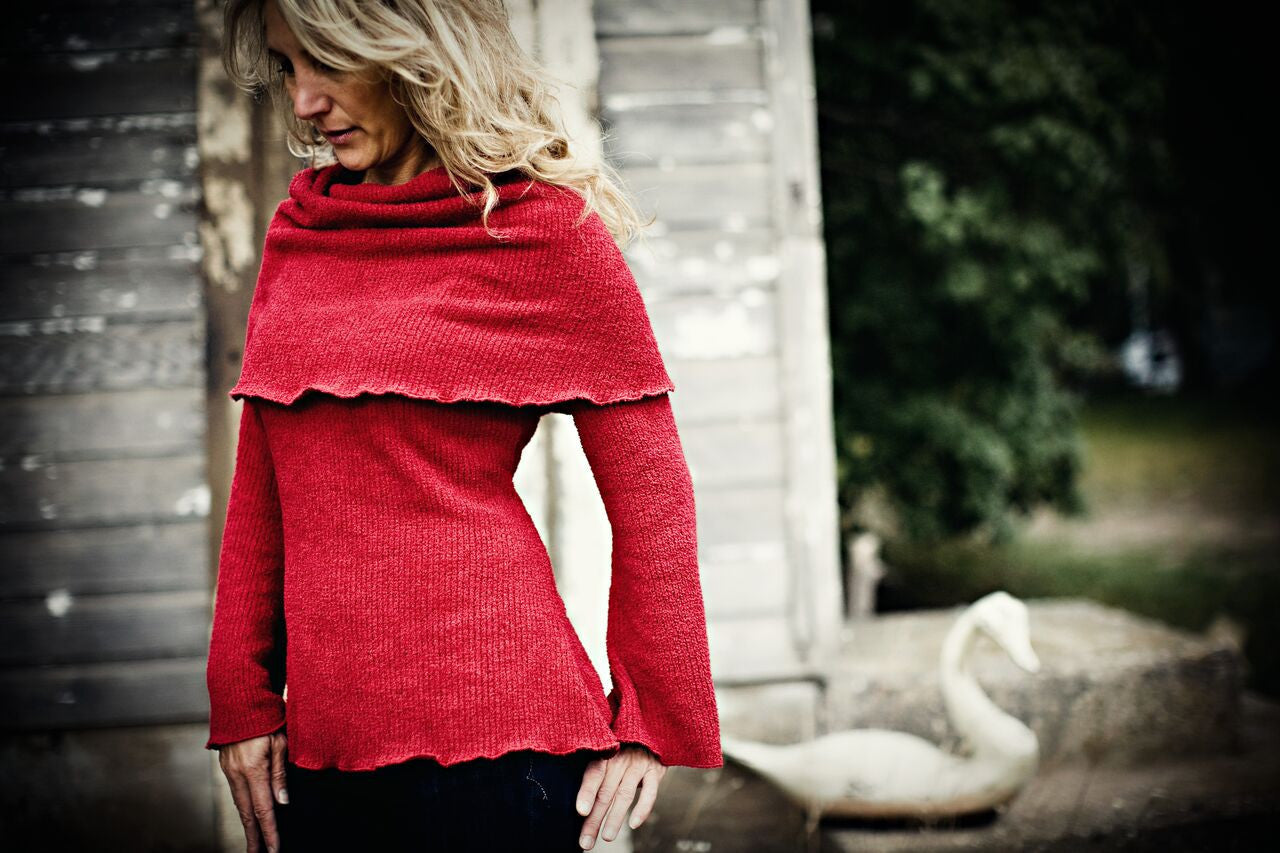 KOKOON Cowl Neck Sweater