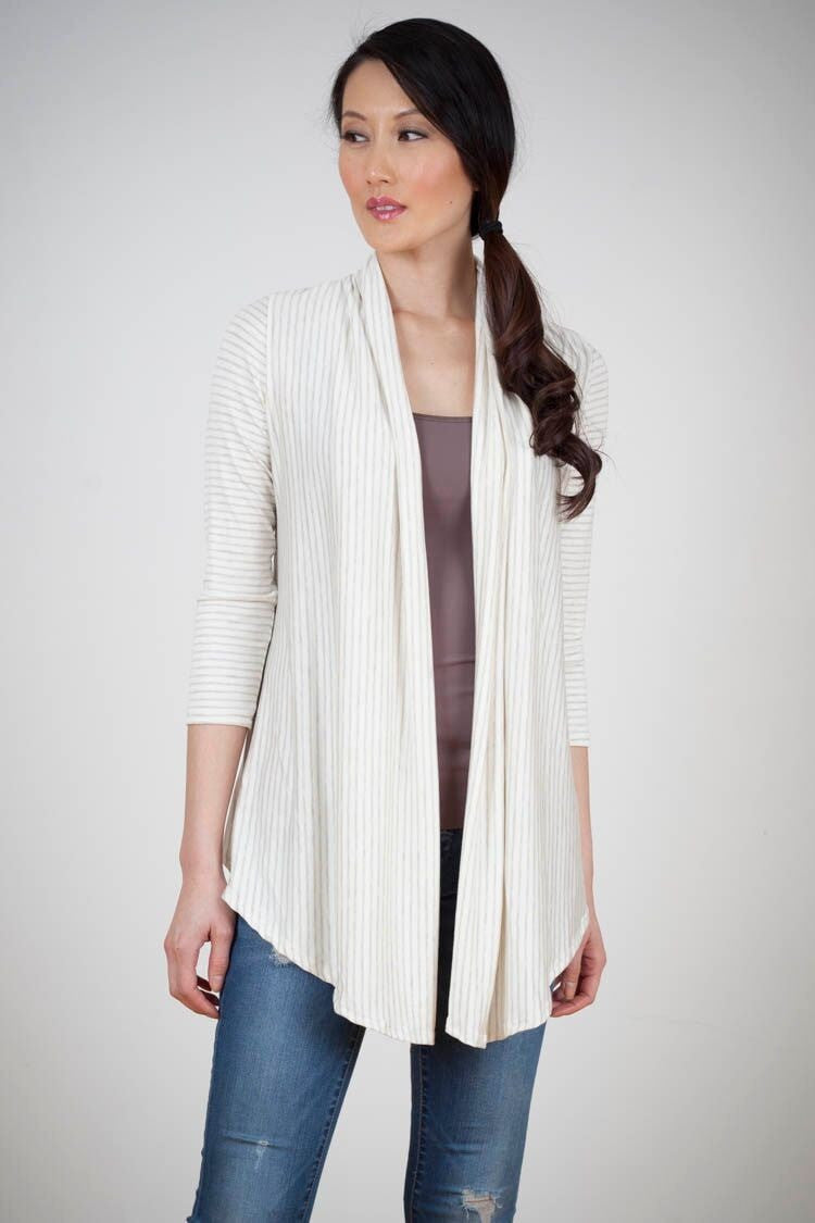 draped product tobi cardigan black cute sweater knitted cream chauffer drapes
